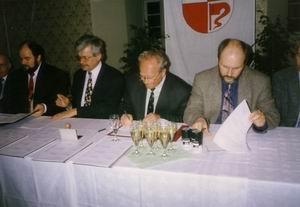 Vertragsunterzeichnung - Eingemeindung Sedlitz nach Senftenberg