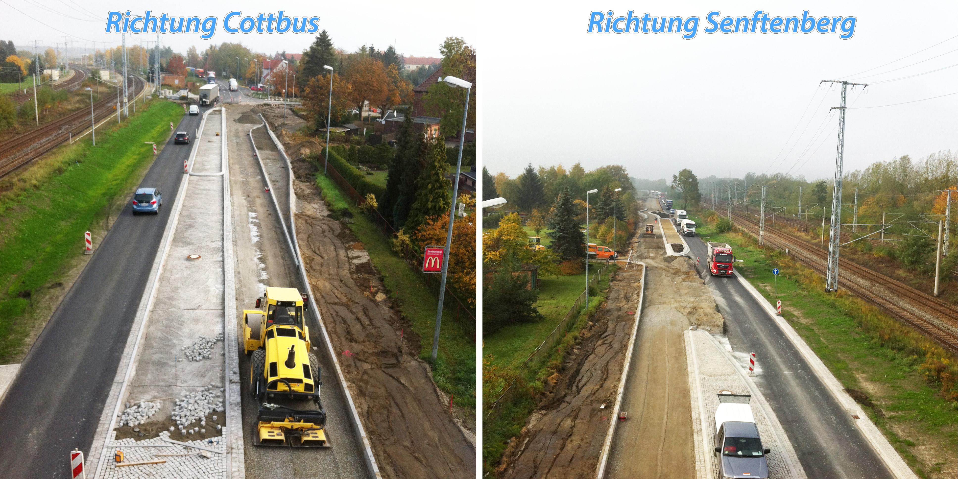 Ausbau der B169 in Sedlitz