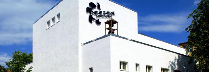 Neue Fassade der NEUEN BÜHNE (Foto: Steffen Rasche)