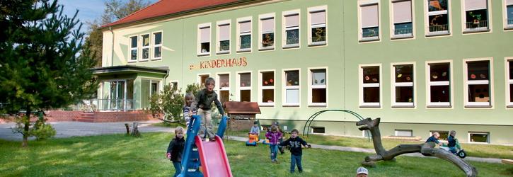 Gebäude des ASB Kinderhaus Sonnenschein  Foto D. Winkler