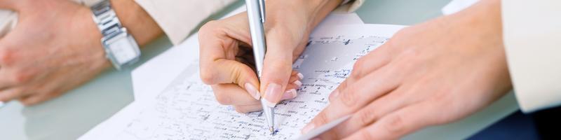 Schreiben Foto Fotolia