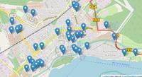 Übersicht der Parkplätze in KartenansichtÜbersicht der Parkplätze in Kartenansicht
