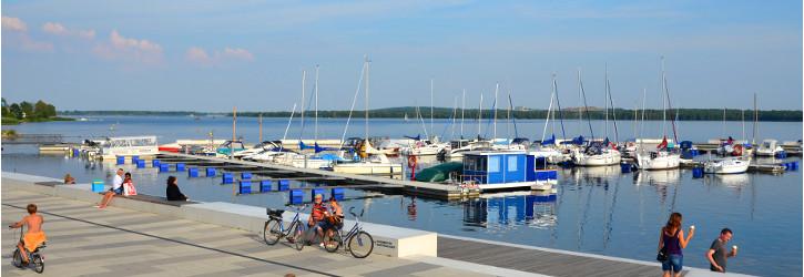 Stadthafen Senftenberg Foto: D. Petermann