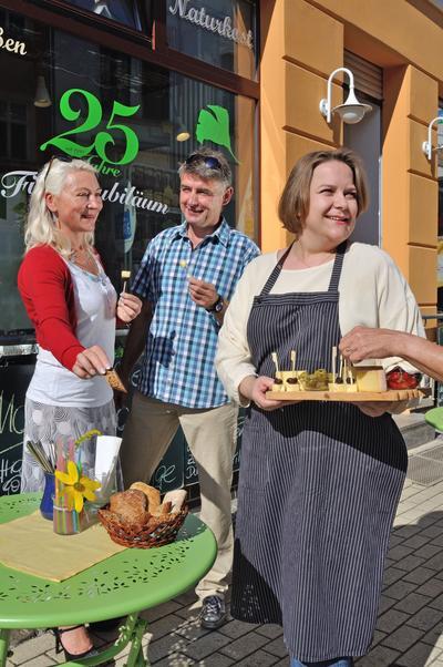 Externer Link: Kulinarische Stadtführung