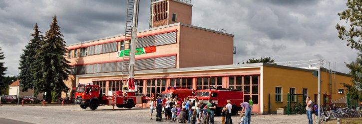 Gebäude der Feuerwehr Foto D. Winkler
