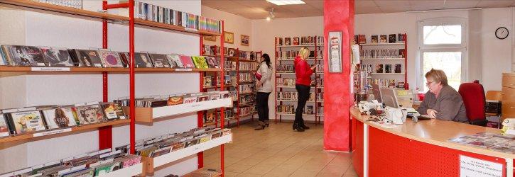 Stadtbibliothek die Theke Foto D. Winkler