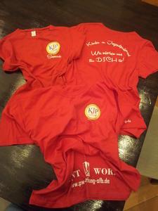 T-Shirts des Kinder und Jugendparlamentes