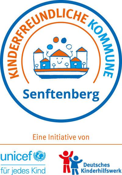 Logo Kinderfreundliche Kommune Senftenberg